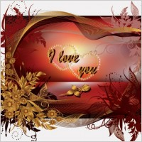 Link toSpecial valentine day greeting card vector