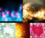 Link toSpectrum of fantasy backgrounds vector