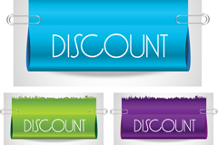 Link toSpecular color discount tag vector