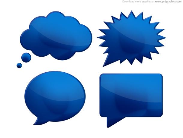 Link toSpeech bubbles (psd)