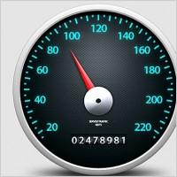 Link toSpeedometer icon free psd