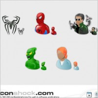 Link toSpiderman vista icons icons pack
