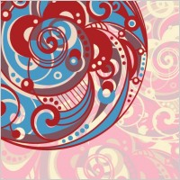 Link toSpiral pattern background 03 vector