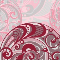 Link toSpiral pattern background 04 vector