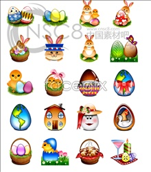 Link toSpirit rabbit and easter egg icon