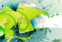 Link toSplash-ink scenery paiting cool fashion background shading vector art