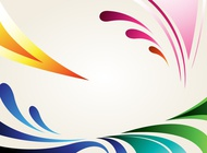 Link toSplash swoosh background image vector free