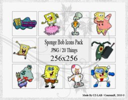 Link toSponge bob icons pack