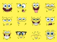 Spongebob vector cartoons free