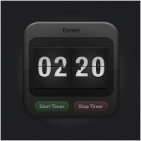 Link toSports timer icon - free psd file