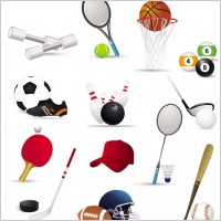 Link toSportsrelated icons 02 vector