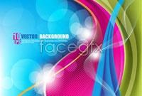 Link toSpot rainbow background vector ii