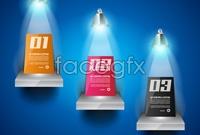 Link toSpotlight booth vector