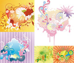 Spray patterns and pattern vector