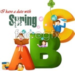 Link toSpring abc vector