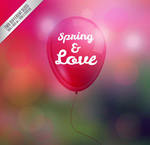 Link toSpring balloons vector