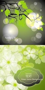 Link toSpring branch leaf vector