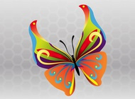 Link toSpring butterfly vector free