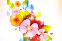 Link toSpring dream flower background vector