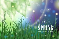 Link toSpring dream grass vector