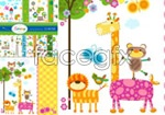 Link toSpring flora and fauna illustration vector