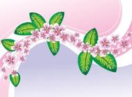 Link toSpring floral background vector free