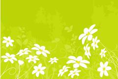 Link toSpring flower background vector