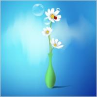 Link toSpring flowers vase