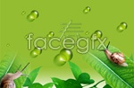 Link toSpring of all things green psd