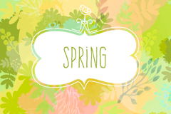 Link toSpring of fresh water background vector