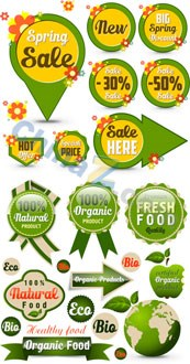 Link toSpring sales icon vector