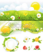 Link toSpring sunny vector