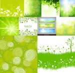 Link toSpring theme background vector
