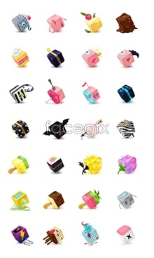 Link toSquare candy series icons