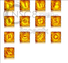 Link toSquare gold desktop icons