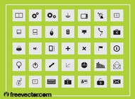 Link toSquare icons graphics vector free
