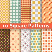 Link toSquare patterns vector free
