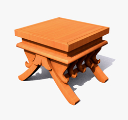 Link toSquare real wood diaoyi tea table 3d models