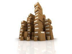 Link toStacked carton of picture material