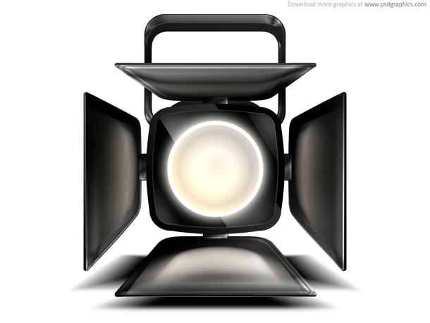 Link toStage spotlight icon (psd)