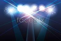 Link toStage spotlights vector