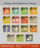 Link toStamp social icons