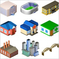 Link toStandard city icons icons pack