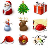 Link toStandard new year icons icons pack