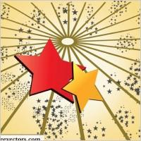 Link toStar background vector