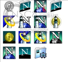 Link toStar bright earth system icons