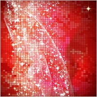 Link toStar bright red background vector