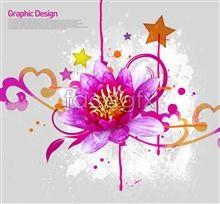 Link toStar flowers korea design elements psd