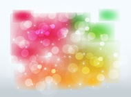 Link toStars and color glows vector free