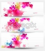 Link toStars decorative banner vector